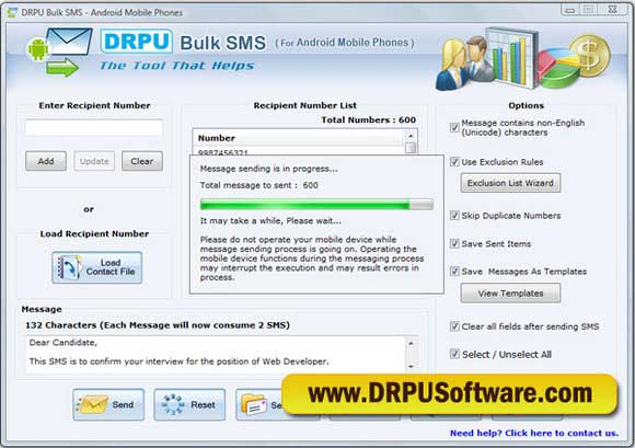 SMS Android Apps 6.0.1.4 screenshot
