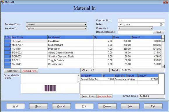Billing, inventory, accounting, management, software, Enterprise, program, devel
