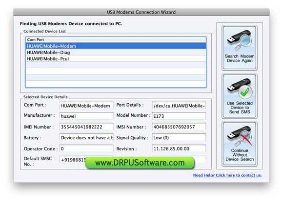 Mac Bulk SMS Software 8.2.1.0