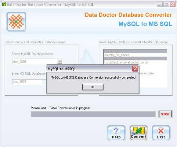MySQL To MSSQL Migrator