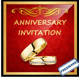 Freeware Drpu Anniversary Invitation Cards Designer Application