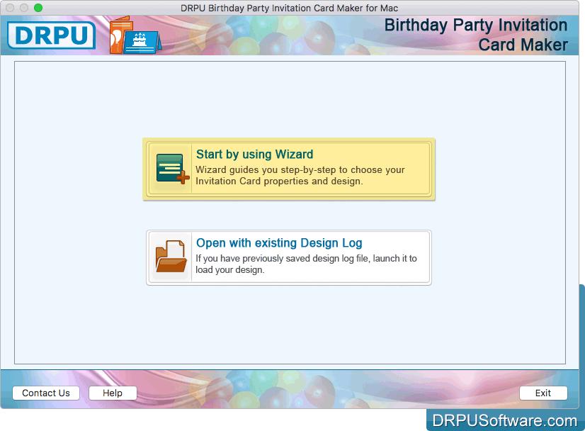 Free invitation design software for mac os