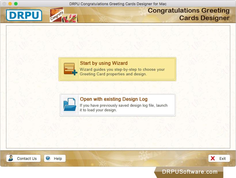 Freeware congratulations greeting cards designer for mac by drpu congratulations greeting cards designer m4hsunfo