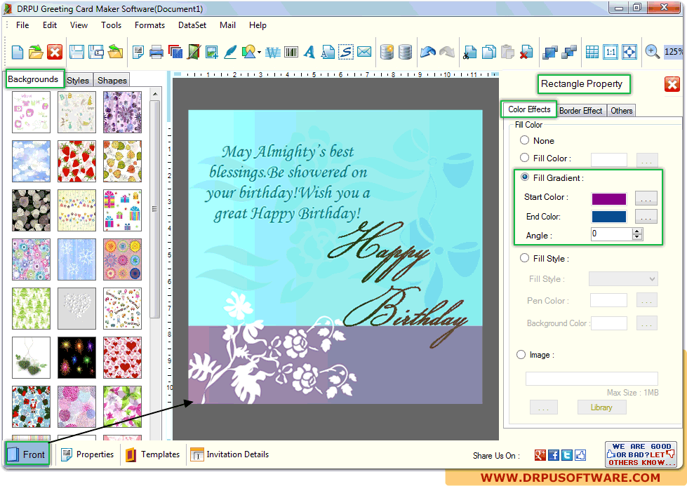 Drpu Greeting Card Maker Software Design Christmas New Year Greeting Cards