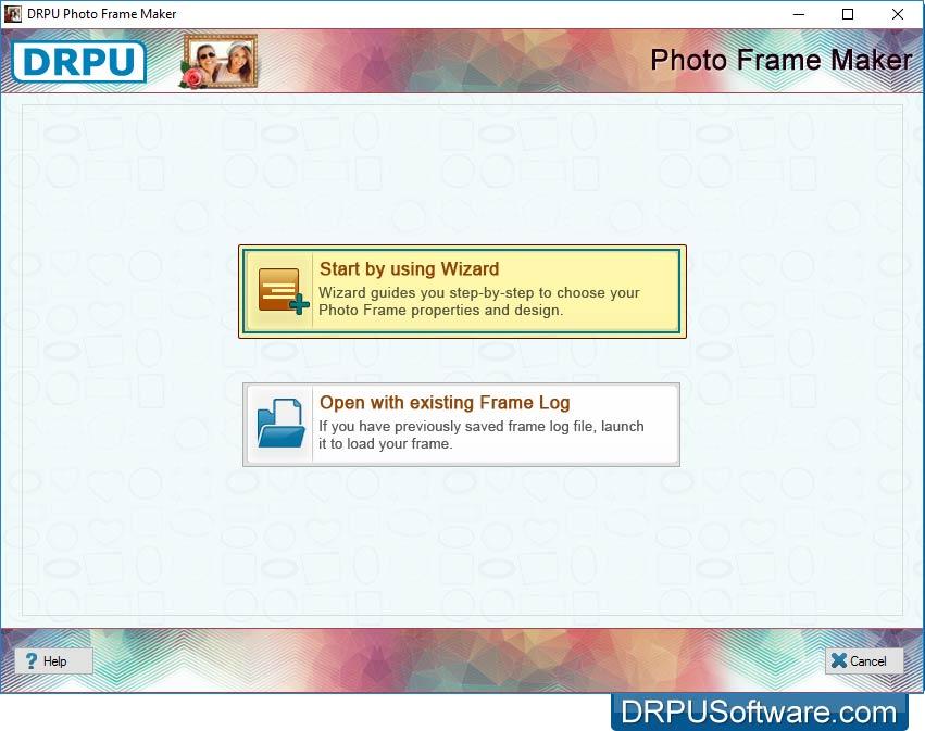 Freeware Photo Frame Maker by DRPU Software